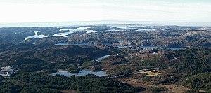 Sotra - Image: Panorama Sotra Nese
