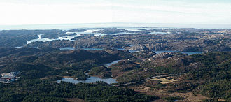 Hordaland - Image: Panorama Sotra Nese