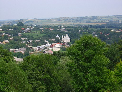 Panorama Cacica - Biserica Ortodoxa - panoramio