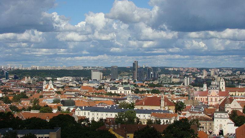 File:Panorama of Vilnius.JPG
