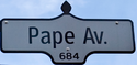 Pape Avenue Sign.png