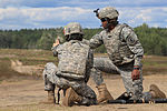 Paratroopers with 173rd Airborne Brigade fire javelins and mortars with Lithuanian forces 140621-A-NM804-192.jpg