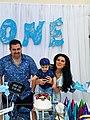 Parents celebrate son's first birthday.jpg