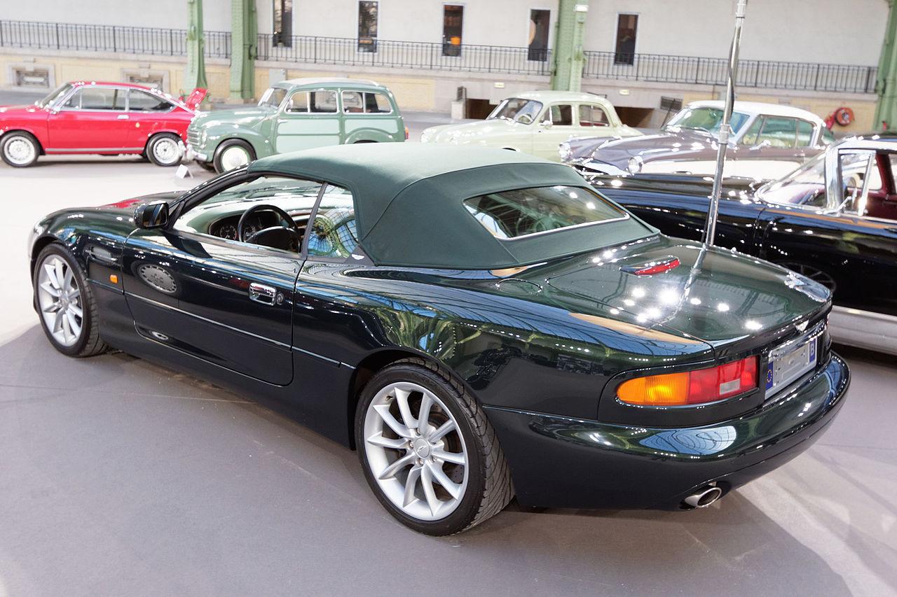 File Paris Bonhams 2015 Aston Martin Db7 V12 Vantage Volante Convertible 2001 004 Jpg Wikimedia Commons
