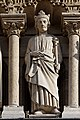 Paris - Cathédrale Notre-Dame -Galerie des rois - PA00086250 - 004.jpg