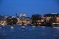 Paris et la Cité - la nuit.JPG