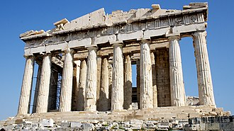 Outline of architecture - The Parthenon in Athens is considered the pinnacle of ancient Greek architecture.