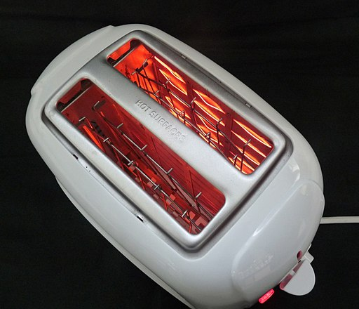Partially working Toaster