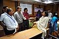 Participants and Madhuvanti Ghosh in Discussion - VMPME Workshop - Science City - Kolkata 2015-07-17 9391.JPG
