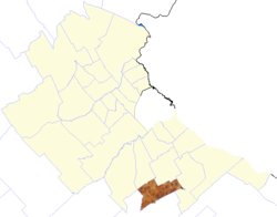 location of Presidente Perón Partido in Gran Buenos Aires