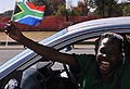 Party in streets of Johannesburg before start of World Cup 2010-06-09 3.jpg