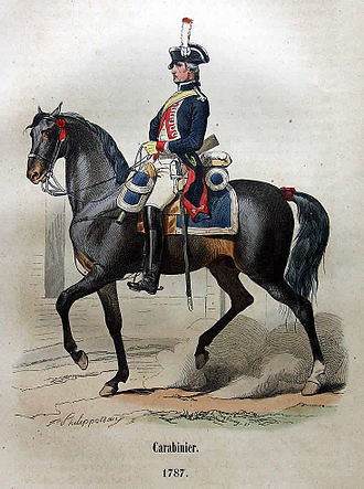 Carabiniers-à-Cheval - Image: Pascal Frankreich Tafel 2