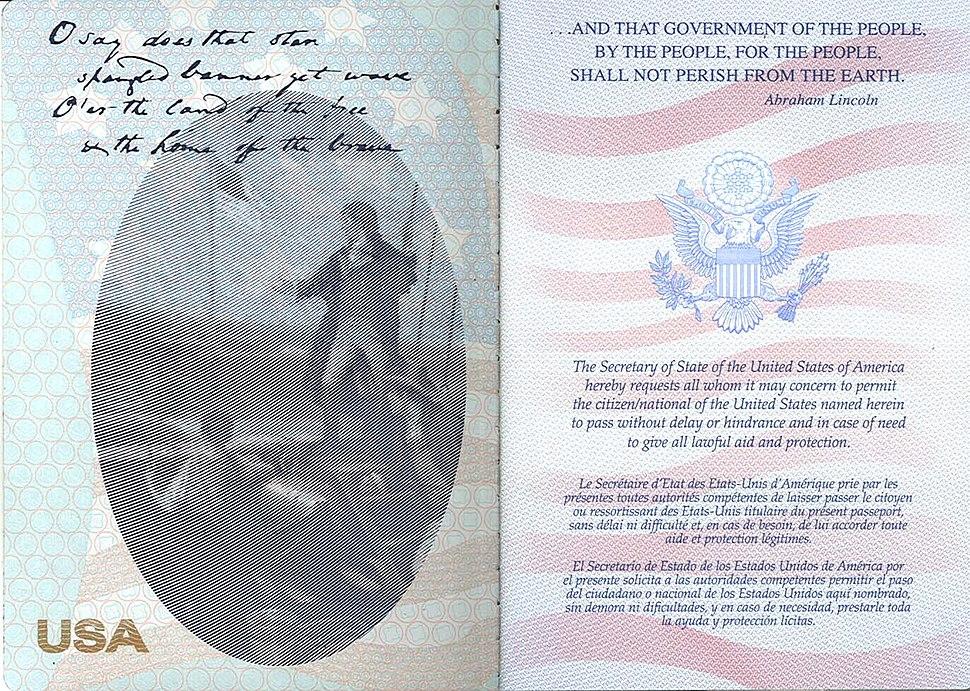 PassportmessageUSA