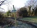 Path junction. - geograph.org.uk - 1716495.jpg