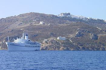 350px-Patmos2005 Всемирното Православие - ПЕЩЕРАТА НА АПОКАЛИПСИСА