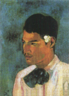 PaulGauguin-1891-Tahitian Boy with Hair Ornament of Flower.png