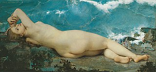 Paul Baudry, The Pearl and the Wave, 1862