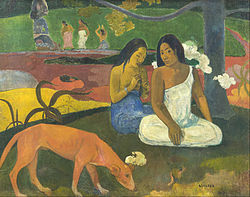 Paul Gauguin - Arearea - Google Art Project.jpg