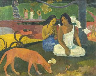 Arearea - Image: Paul Gauguin Arearea Google Art Project