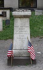 Paul Revere Memorial, Granary Burying Ground, Boston, Massachusetts