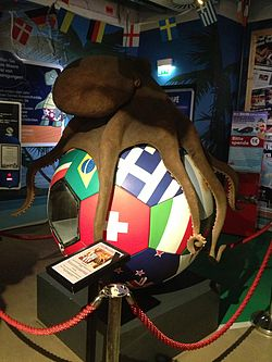 Paul the Octopus memorial statue