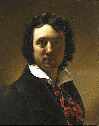 Jean-Baptiste Paulin Guérin - Self-portrait (c.1817)