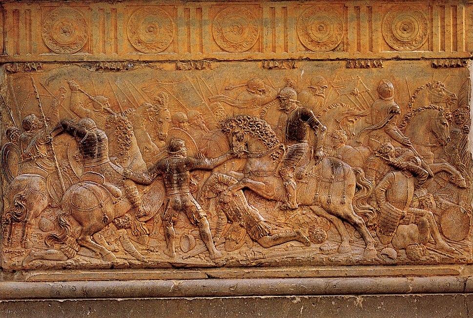 Pavia relief