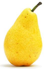 Une poire, fruit du poirier. (1)