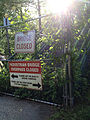 Pedestrian Bridge Closed - Tuckahoe NY - 2015.jpg