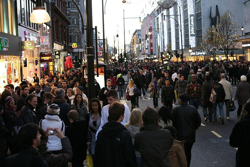 File:Pedestrian day on Oxford Street.jpg