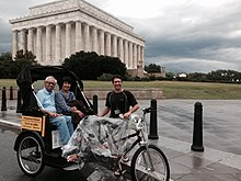 Pedicab Tour in Washington DC