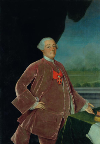 Peter III of Portugal - Pedro, Prince of Brazil; Portrait by Vieira Lusitano.