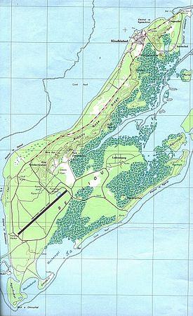 Map Of Palaui Island
