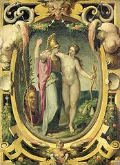 Vénus et Minerve