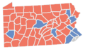 Pennsylvania Presidential Election Results 2016.png