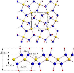 Penta-graphene - Image: Penta graphane