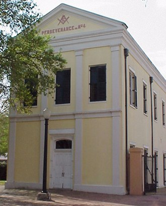 New Orleans Jazz National Historical Park - Perseverance Hall No. 4