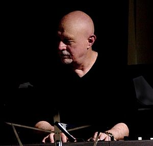 Pete Levin - Levin performing with the Lou Marini Quintet in 2010