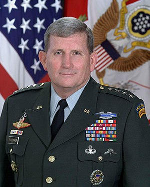 Peter Schoomaker - General Peter J. Schoomaker 35th Chief of Staff of the U.S. Army