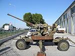 Pezzo artiglieria surplus, Ferro Polesine Rovigo 04.JPG