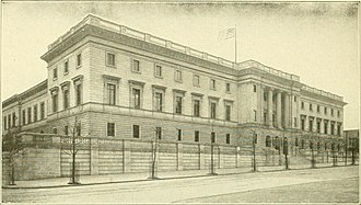 Philadelphia Mint - Third Philadelphia Mint (1901). Now Community College of Philadelphia.