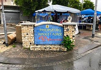 Philipsburg, Sint Maarten - Philipsburg Marketplace.
