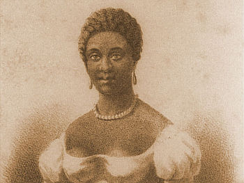 English: Portrait of Phillis Wheatley
