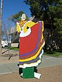 Phoenix, AZ, Mexican Village Dancing Figure, State Centenary Celebration, Ibis Blas, Photographer, 2012 - panoramio.jpg