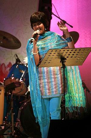 Anuradha Sriram - Image: Photograph of Anuradha Sriram