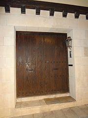 Photography by David Adam Kess, España, Aranda de Duero, Hand Carved Wooden Door, pic bbba41.jpg