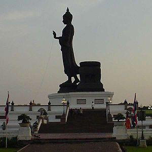 Phutthamonthon - Buddha statue at Phutthamonthon