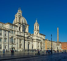 Piazza Navona Sant'Agnese in Agone fontana dei Fiumi Roma.jpg