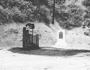 Pico Canyon Oilfield - Well Number 4 in 1961, Pico Canyon Oil Field