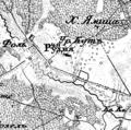 Pidlisne (Rudnia), 1866—1887, map.png